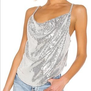 NWT Revolve Kendall + Kylie sequin top